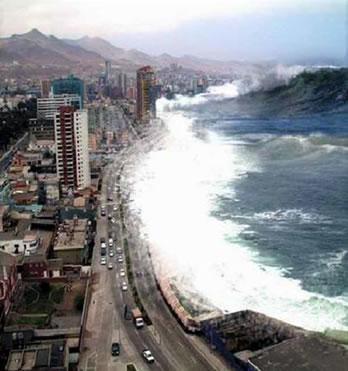 Наводнение и цунами что делать в чрезвычайных ситуациях  Цунами это опасное природное явление представляющее собой ударные океанические волны возникающие главным образом в результате сдвига вверх или вниз